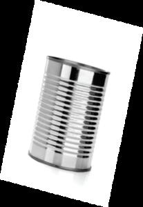 A tin can