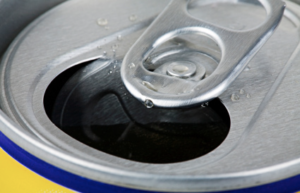 a drinks can