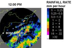 Fig 2. Rainfall Radar