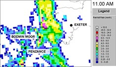 Fig 3. Rainfall radar.