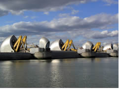 The Thames Barrage