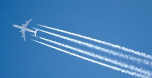 Aircraft and contrails