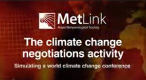 climate negotiations trailer